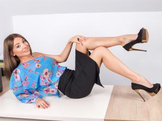 Sexy profilbilde av modellen  LaraJoy, for et veldig hett live webcam-show!