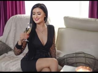 Velmi sexy fotografie sexy profilu modelky AdelineeLove pro live show s webovou kamerou!