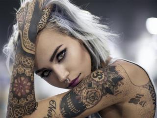 Velmi sexy fotografie sexy profilu modelky AlexaSpace pro live show s webovou kamerou!
