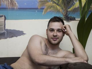 Picture of the sexy profile of AlexTiger, for a very hot webcam live show !