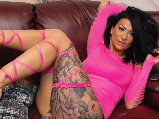 Velmi sexy fotografie sexy profilu modelky AndraD pro live show s webovou kamerou!