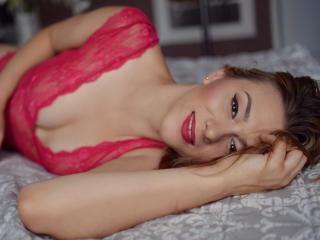 Foto de perfil sexy de la modelo AnielleRouge, ¡disfruta de un show webcam muy caliente!