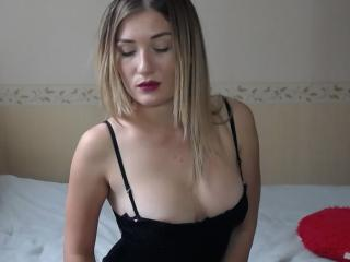 Photo de profil sexy du modèle Anyy, pour un live show webcam très hot !