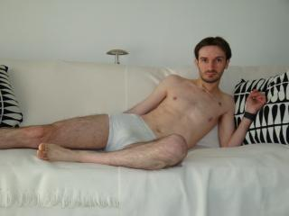 Picture of the sexy profile of Benmax, for a very hot webcam live show !