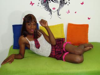 Picture of the sexy profile of BlackBabeTs, for a very hot webcam live show !