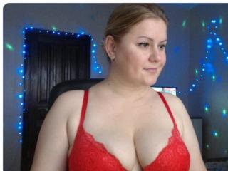 Picture of the sexy profile of BlackEyesEva, for a very hot webcam live show !