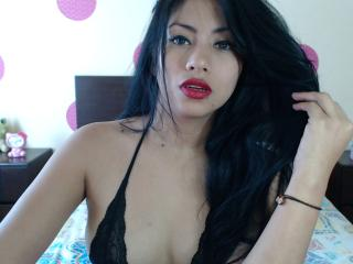Picture of the sexy profile of BrunettLatina, for a very hot webcam live show !