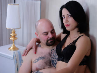 Picture of the sexy profile of CandyAndClark, for a very hot webcam live show !