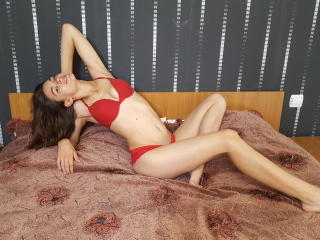 Photo de profil sexy du modèle CanndyLips, pour un live show webcam très hot !
