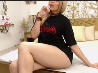 Photo de profil sexy du modèle CarolineMeyer, pour un live show webcam très hot !