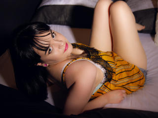 Photo de profil sexy du modèle DearMaribell, pour un live show webcam très hot !