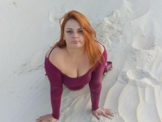 Velmi sexy fotografie sexy profilu modelky EvaDarkNymph pro live show s webovou kamerou!