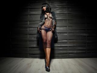 Bild på den sexiga profilen av FetishEve för en väldigt het liveshow i webbkameran!