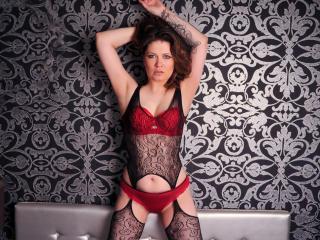 Model FuckableMILF'in seksi profil resmi, çok ateşli bir canlı webcam yayını sizi bekliyor!