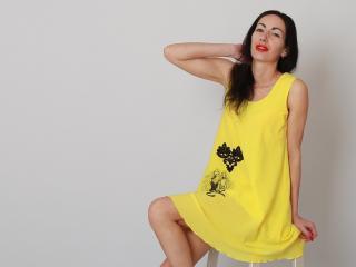 Poza sexy de profil a modelului JenniferAir, pentru un intens show webcam live !