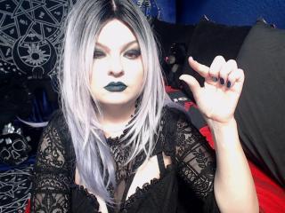 Model KylinaDomina'in seksi profil resmi, çok ateşli bir canlı webcam yayını sizi bekliyor!