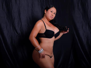 Sexet profilfoto af model LatinaHotSquirt, til meget hot live show webcam!