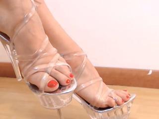Velmi sexy fotografie sexy profilu modelky LovelyDream pro live show s webovou kamerou!