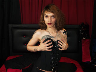 Picture of the sexy profile of MagicAlice, for a very hot webcam live show !