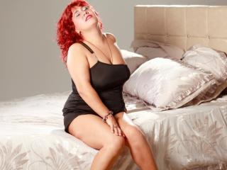 Velmi sexy fotografie sexy profilu modelky MagnificentDame pro live show s webovou kamerou!