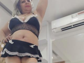 Velmi sexy fotografie sexy profilu modelky MatureCoquine pro live show s webovou kamerou!
