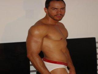 Picture of the sexy profile of Maximilianno, for a very hot webcam live show !