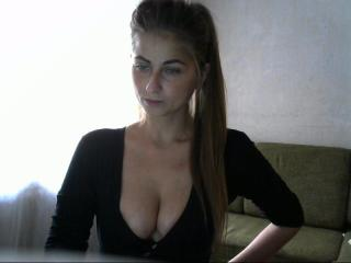 Picture of the sexy profile of Milahere, for a very hot webcam live show !