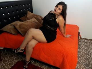 Picture of the sexy profile of MinervaLove, for a very hot webcam live show !