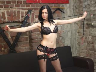 Photo de profil sexy du modèle NatashaMistress, pour un live show webcam très hot !