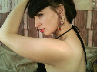 Picture of the sexy profile of Oxanna, for a very hot webcam live show !