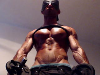 Picture of the sexy profile of RippedMaster, for a very hot webcam live show !