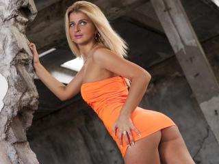 Foto de perfil sexy de la modelo Sabinne, ¡disfruta de un show webcam muy caliente!