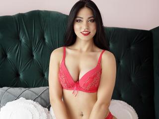 Foto de perfil sexy de la modelo SaraGisella, ¡disfruta de un show webcam muy caliente!