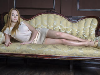 Sexet profilfoto af model SharronLovely, til meget hot live show webcam!