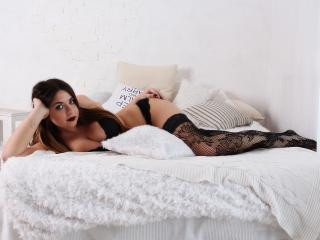 Velmi sexy fotografie sexy profilu modelky SofiaDevil pro live show s webovou kamerou!