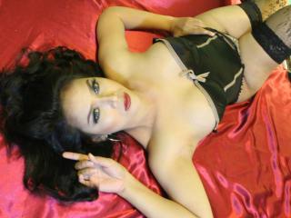 Velmi sexy fotografie sexy profilu modelky StunningBoobies pro live show s webovou kamerou!