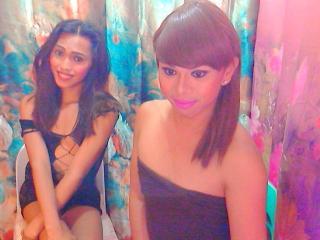 Hình ảnh đại diện sexy của người mẫu TwoHotFuckingTrans để phục vụ một show webcam trực tuyến vô cùng nóng bỏng!