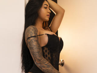 Photo de profil sexy du modèle ValeryTs, pour un live show webcam très hot !