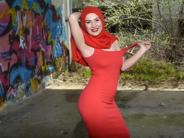 Foto de perfil sexy de la modelo Annisha, ¡disfruta de un show webcam muy caliente!