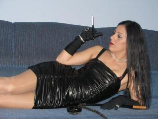 FetisQueen - Webcam xXx with this black hair Mistress