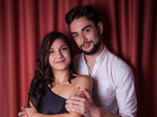 JoshAndAlexis - Cam hard with a European Female and male couple