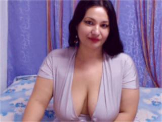 Picture of the sexy profile of Carmellita, for a very hot webcam live show !