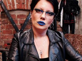 Photo de profil sexy du modèle DomAnastassia, pour un live show webcam très hot !