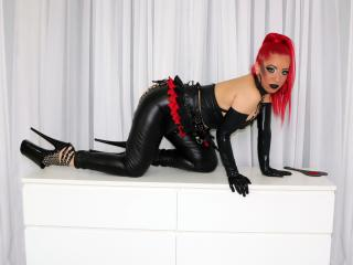Picture of the sexy profile of DiabelleShemale, for a very hot webcam live show !