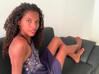 Sexy Profilfoto des Models CuteBella, für eine sehr heiße Liveshow per Webcam!
