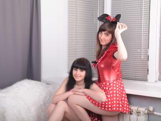 תמונת פרופיל סקסית של MonikaAndMia למופע חי מאוד סקסי!