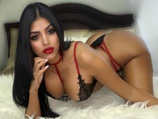 Photo de profil sexy du modèle AllisonChannelLatin, pour un live show webcam très hot !