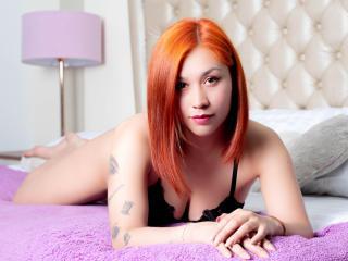 Poza sexy de profil a modelului ValerieBestX, pentru un intens show webcam live !