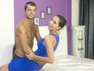 Picture of the sexy profile of SelenaAndDavid, for a very hot webcam live show !