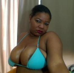 Picture of the sexy profile of BlackBigTitsX, for a very hot webcam live show !